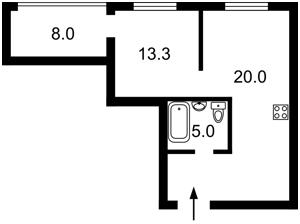 Квартира B-99687, Лобановского просп. (Краснозвездный просп.), 4г, Киев - Фото 5