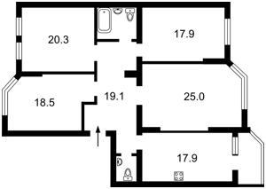 Квартира B-99656, Ереванская, 30, Киев - Фото 5