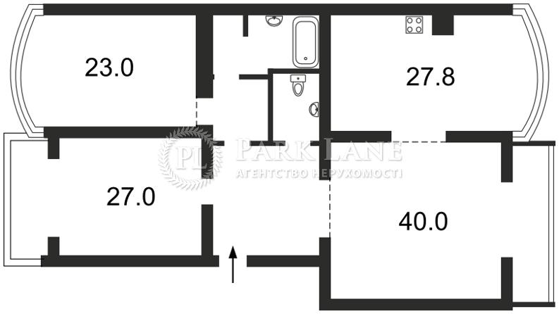 Квартира ул. Оболонская набережная, 7 корпус 1, Киев, X-21586 - Фото 2