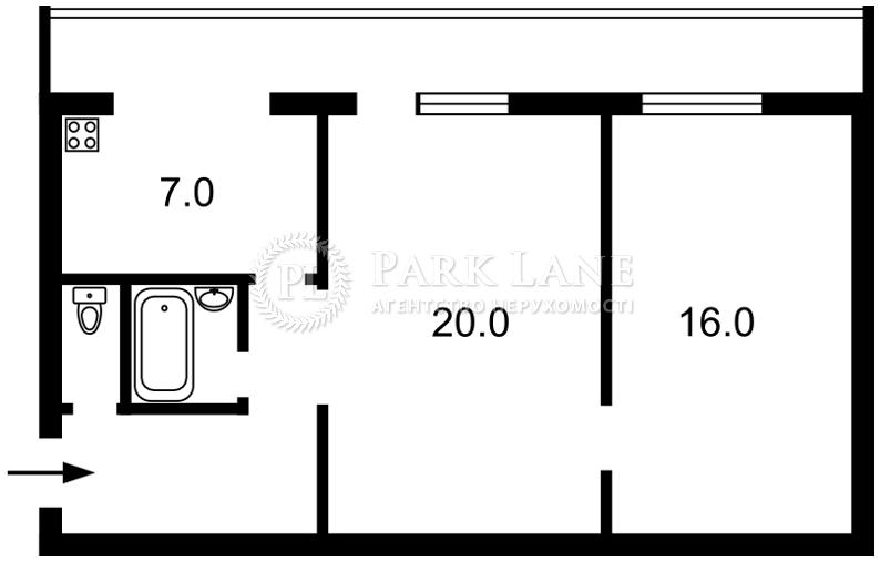 Квартира Кловский спуск, 24, Киев, H-20950 - Фото 2