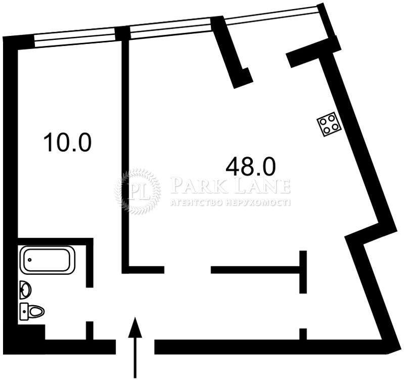 Квартира Героев Сталинграда просп., 2д, Киев, R-29772 - Фото 2