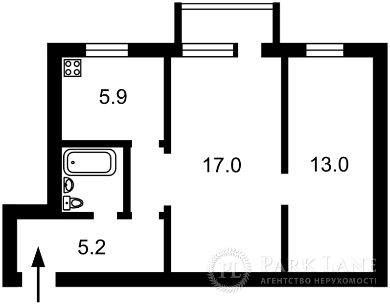 Квартира Победы просп., 9, Киев, Z-588789 - Фото 2