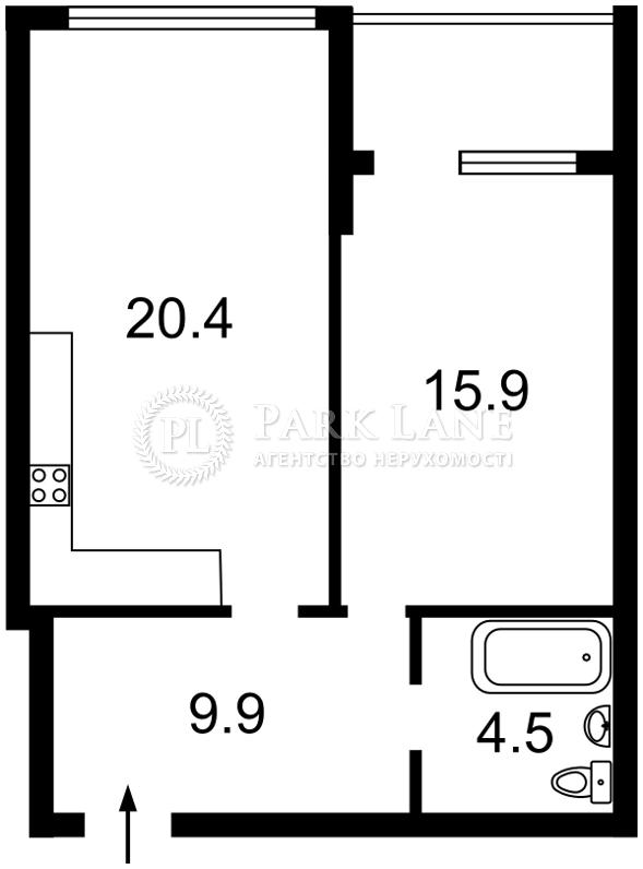 Квартира N-21437, Деловая (Димитрова), 1/2, Киев - Фото 5