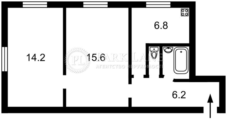 Квартира ул. Саратовская, 10, Киев, R-27860 - Фото 2