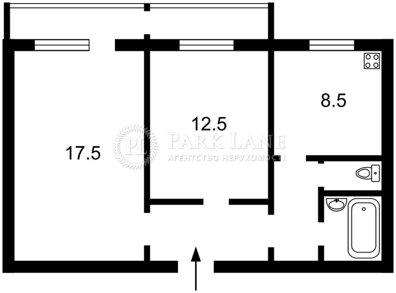 Квартира ул. Драйзера Теодора, 6а, Киев, R-29734 - Фото 2