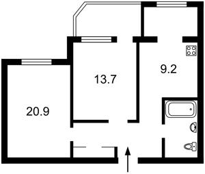 Квартира Z-592758, Ахматовой, 31, Киев - Фото 8