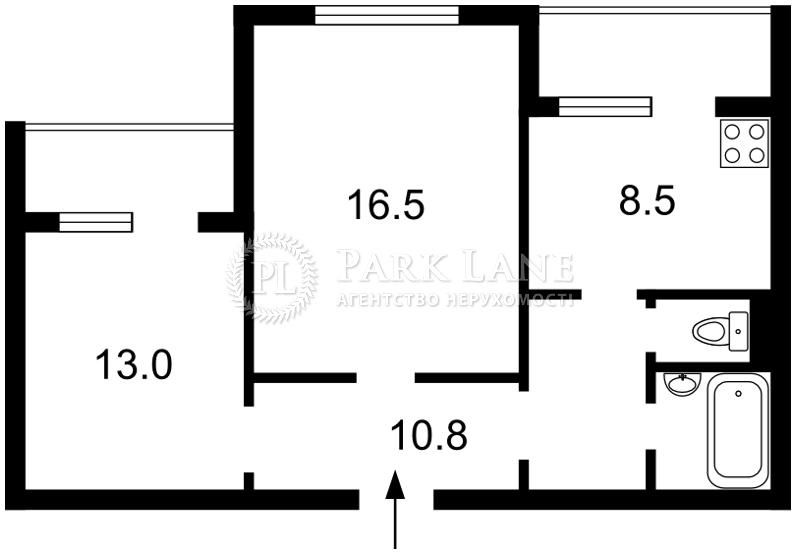 Квартира ул. Салютная, 42/46, Киев, R-14994 - Фото 2