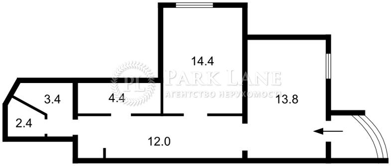 Нежилое помещение, Бажана Николая просп., Киев, Z-594757 - Фото 2