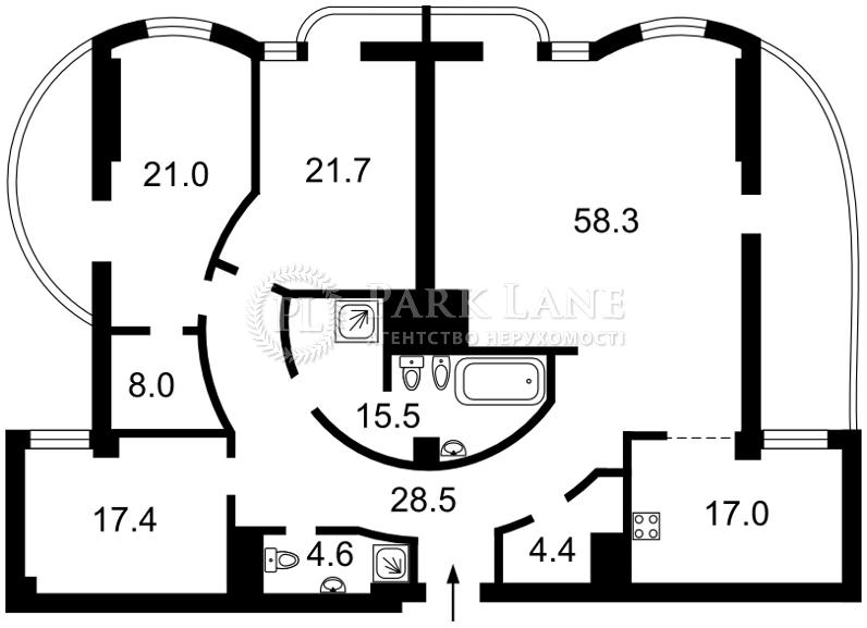 Квартира ул. Зверинецкая, 59, Киев, R-31861 - Фото 2