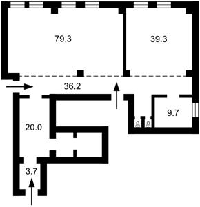 Нежилое помещение, B-99854, Деловая (Димитрова), Киев - Фото 1