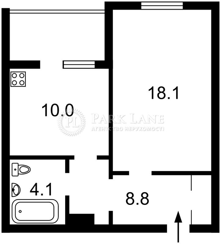 Квартира вул. Урлівська, 38а, Київ, D-35767 - Фото 2