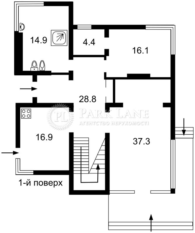 Дом Крюковщина, J-28303 - Фото 3