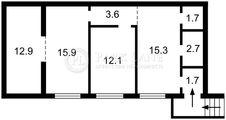 Нежитлове приміщення, вул. Маккейна Джона (Кудрі Івана), Київ, Z-1781779 - Фото 2