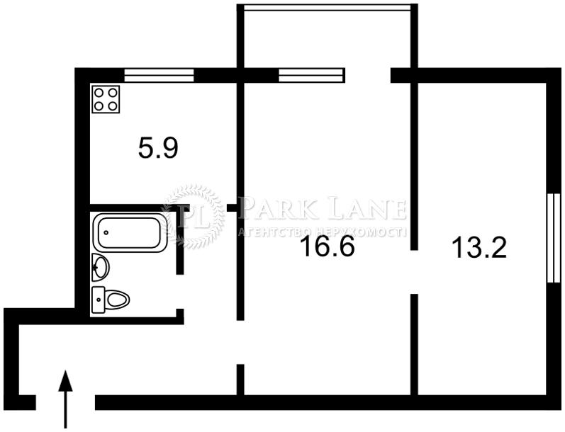 Квартира ул. Джона Маккейна (Кудри Ивана), 28/25, Киев, Z-585873 - Фото 2