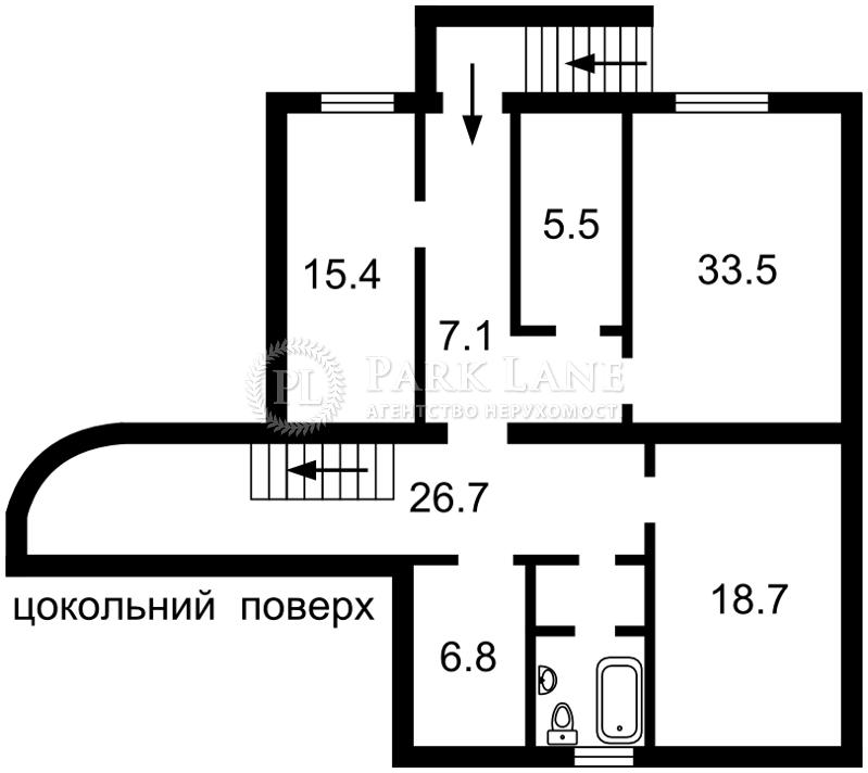 Дом Терешковой Валентины 2-й пер., Киев, R-30718 - Фото 2