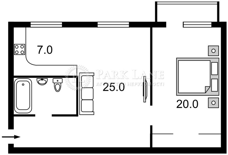 Квартира I-30732, Чигорина, 55, Киев - Фото 3