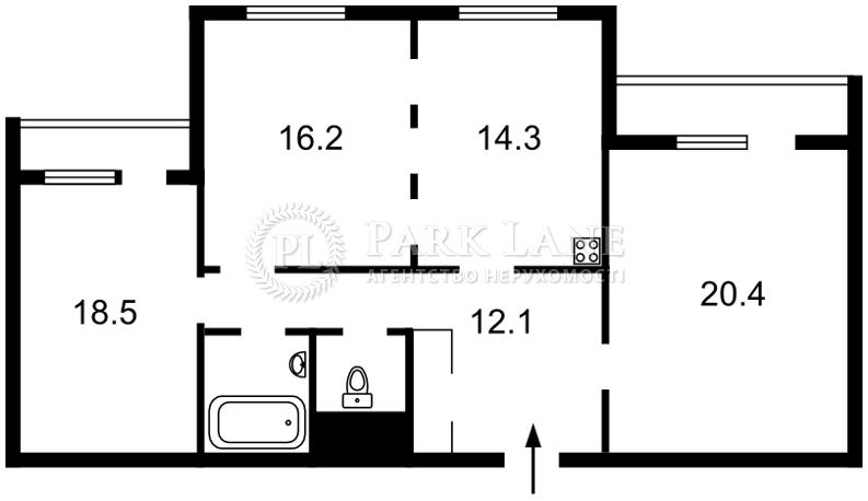 Квартира ул. Кадетский Гай, 11, Киев, X-10336 - Фото 2