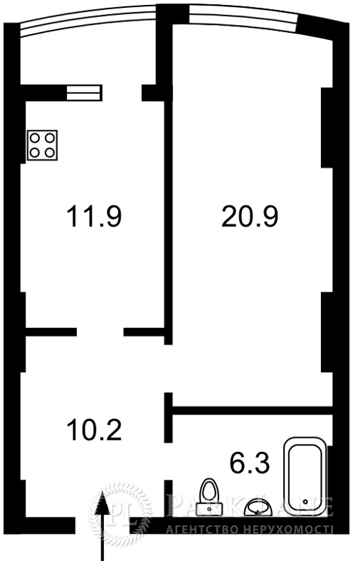 Квартира Перемоги просп., 131, Київ, A-79469 - Фото 2