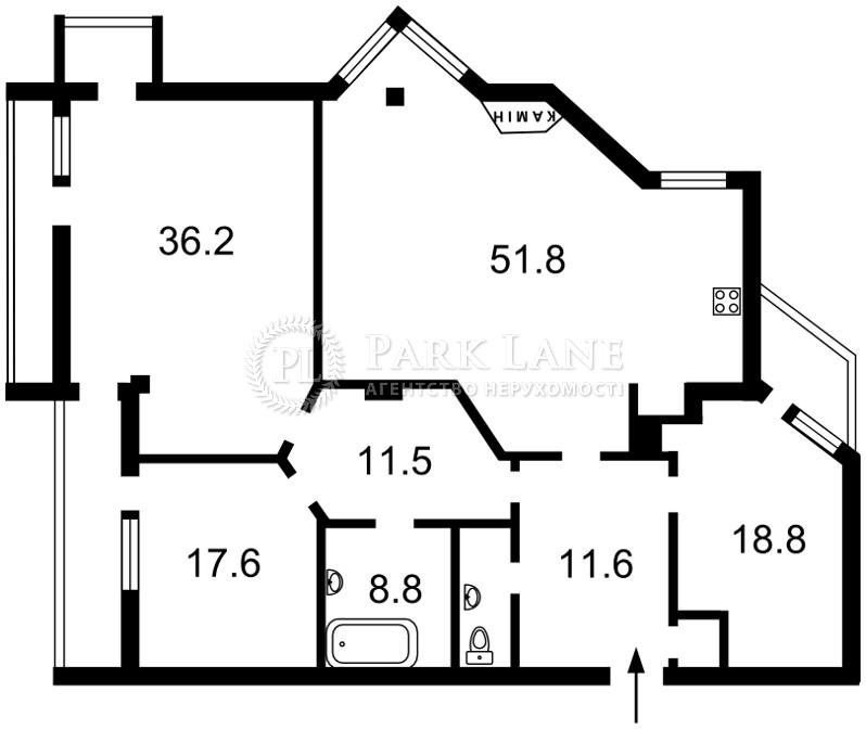 Квартира R-29818, Бульварно-Кудрявская (Воровского), 36, Киев - Фото 5