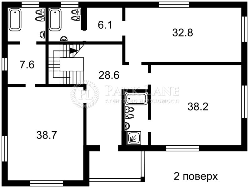 Будинок вул. Стежки, Лісники (Києво-Святошинський), B-99997 - Фото 3