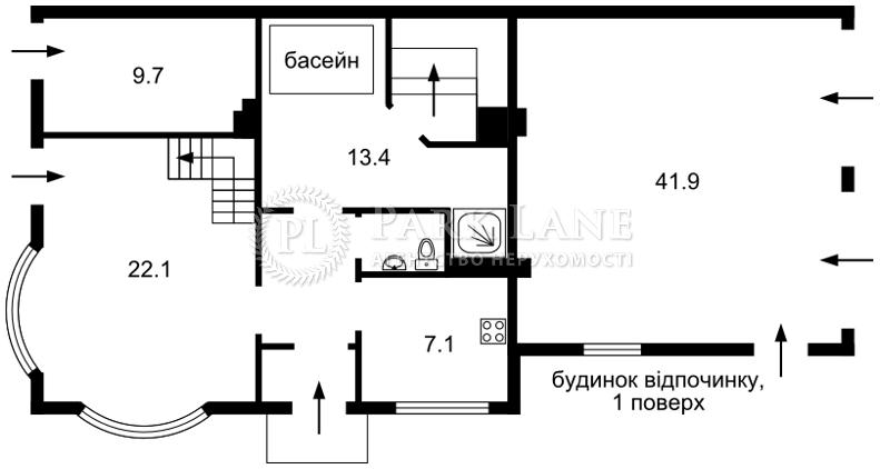 Будинок вул. Стежки, Лісники (Києво-Святошинський), B-99997 - Фото 5
