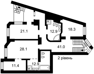 Квартира K-28899, Хмельницкого Богдана, 58а, Киев - Фото 4