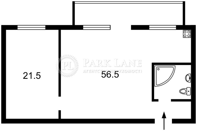 Квартира ул. Большая Васильковская, 41, Киев, Z-599094 - Фото 2