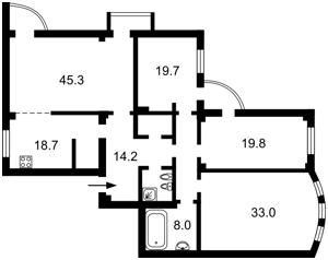 Квартира B-100042, Павловская, 26/41, Киев - Фото 4