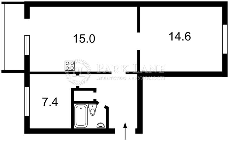 Квартира ул. Богомольца Академика, 8а, Киев, Z-1608154 - Фото 2