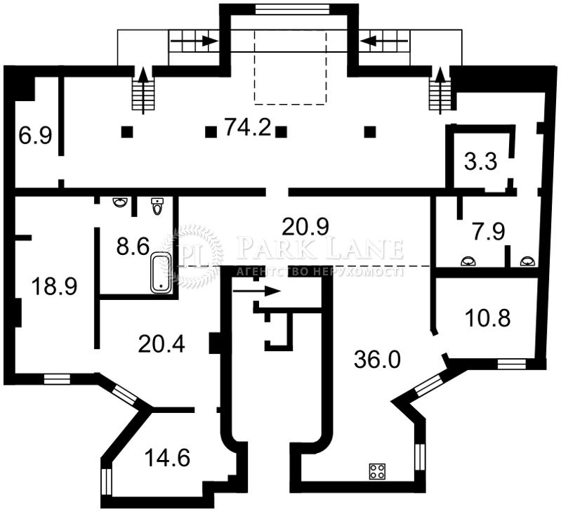 Квартира I-30872, Антоновича (Горького), 8, Киев - Фото 3