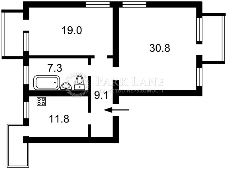 Квартира ул. Верховинная, 84, Киев, Z-599138 - Фото 2