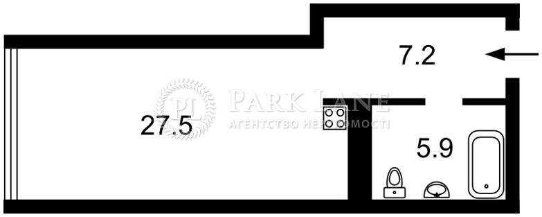 Квартира вул. Тимошенка Маршала, 21/19, Київ, D-35938 - Фото 2