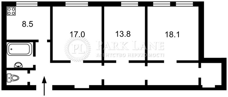 Квартира ул. Городецкого Архитектора, 11б, Киев, R-31591 - Фото 2