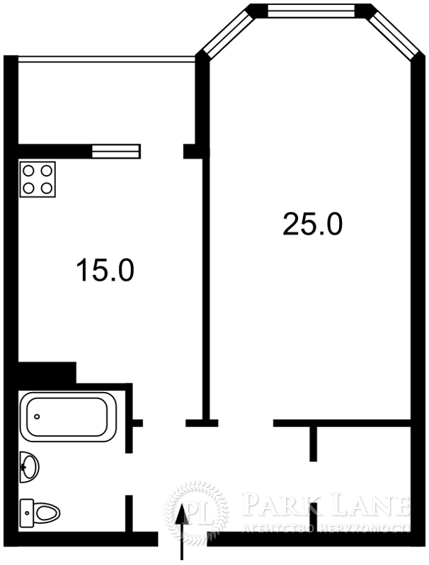 Квартира ул. Коновальца Евгения (Щорса), 34а, Киев, Z-635795 - Фото 2