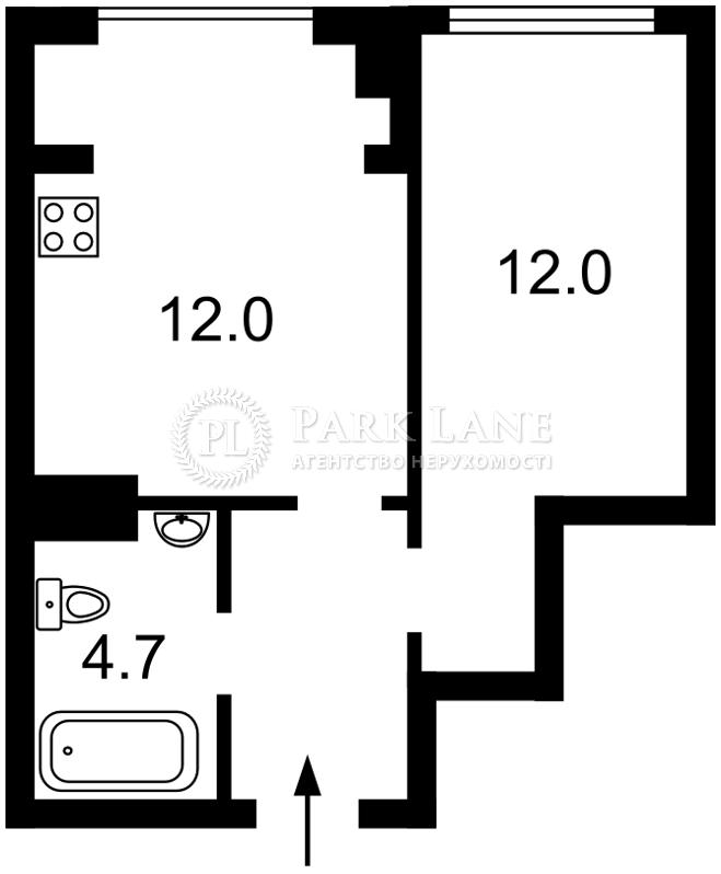 Квартира ул. Антоновича (Горького), 74, Киев, B-99886 - Фото 2
