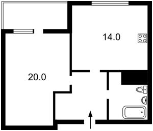 Квартира J-28826, Заболотного Академика, 15 корпус 2, Киев - Фото 7