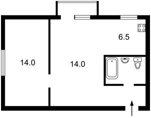 Квартира B-100076, Русанівський бульв., 4, Київ - Фото 2