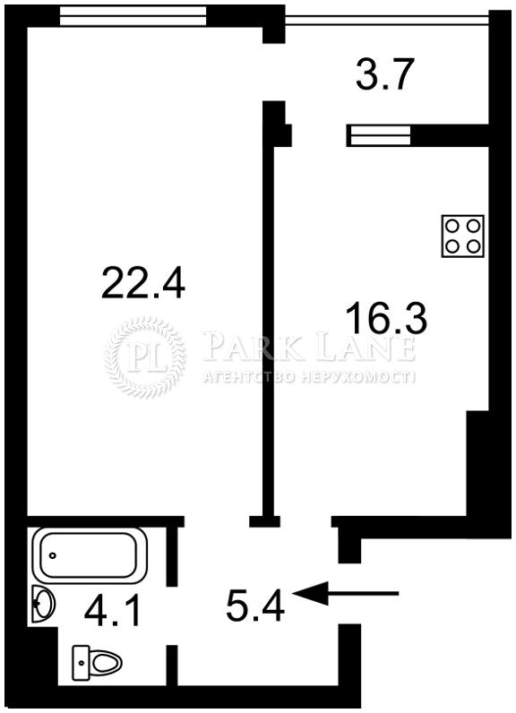 Квартира J-28855, Бульварно-Кудрявська (Воровського), 15а корпус 2, Київ - Фото 5