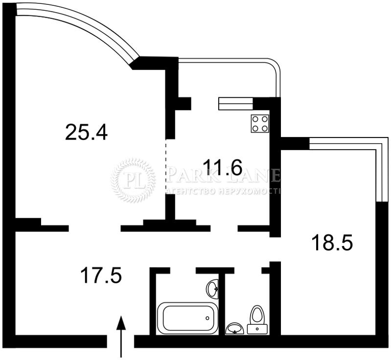Квартира Перемоги просп., 131, Київ, I-30975 - Фото 2