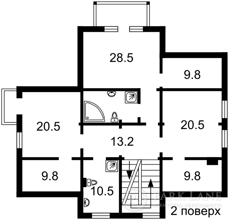 Дом ул. Лесная, Стоянка, B-100196 - Фото 4
