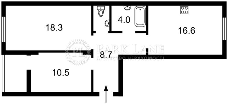 Нежилое помещение, ул. Набережно-Рыбальская, Киев, Z-675020 - Фото 2