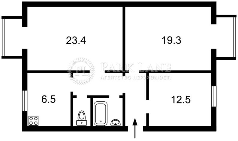 Квартира ул. Крещатик, 27, Киев, M-37204 - Фото 2