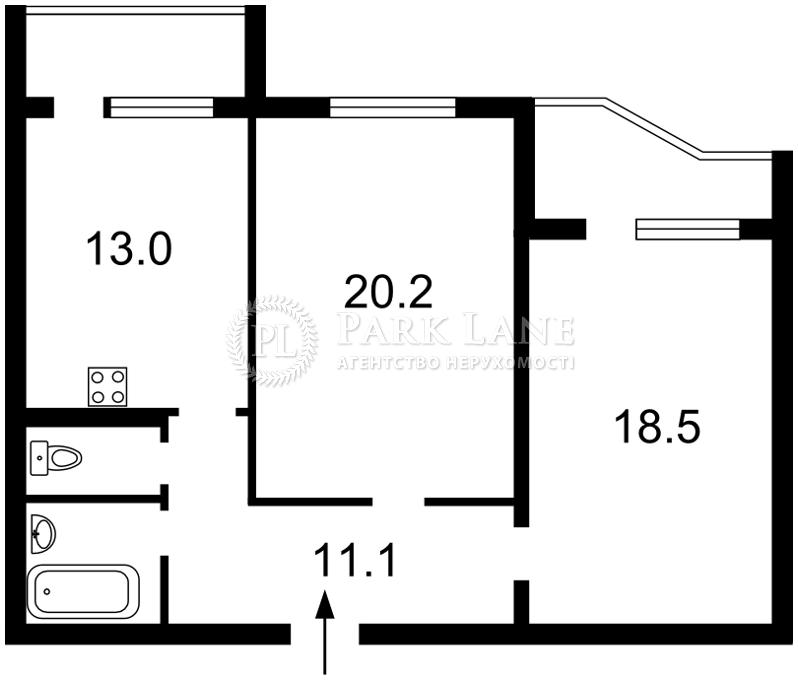 Квартира J-28640, Ахматовой, 16б, Киев - Фото 4