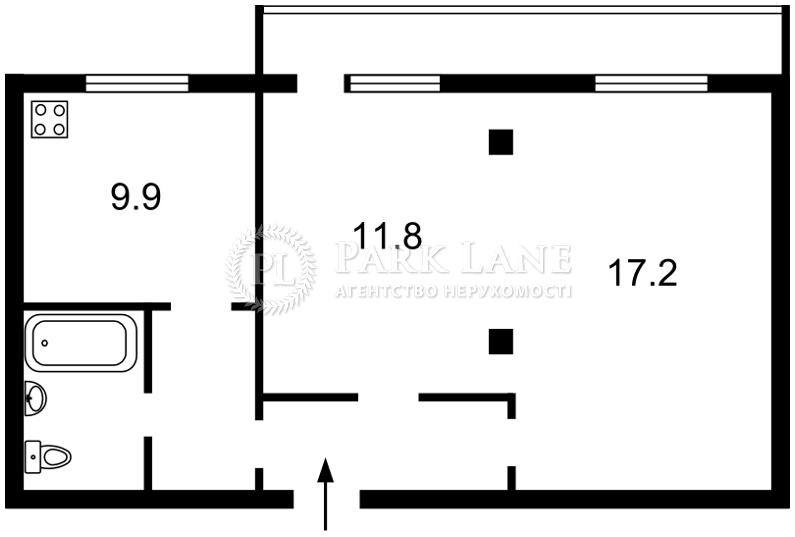 Квартира вул. Срібнокільська, 22а, Київ, R-3639 - Фото 2