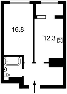Квартира J-28959, Заболотного Академіка, 1 корпус 1, Київ - Фото 3