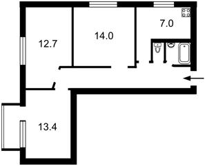 Квартира Z-550355, Багговутовская, 3/15, Киев - Фото 3