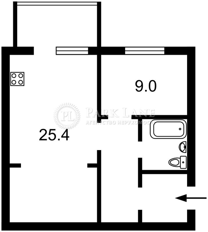 Квартира ул. Большая Васильковская, 76, Киев, G-14448 - Фото 2