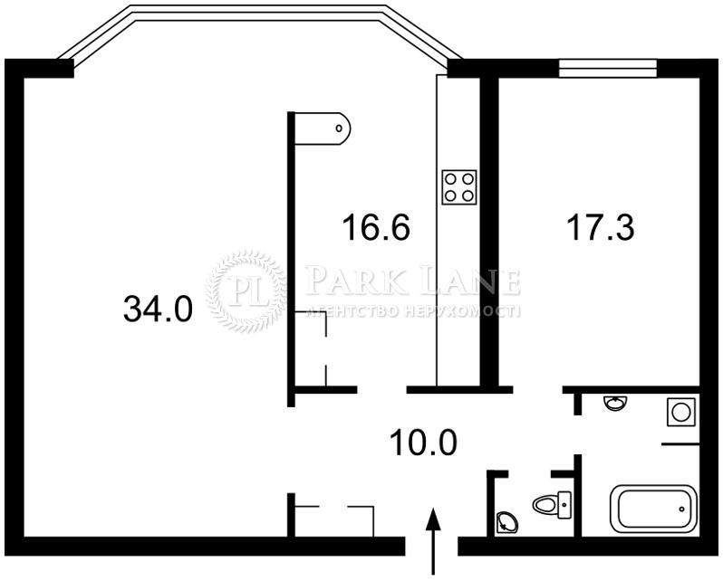 Квартира Тычины Павла просп., 2, Киев, R-743 - Фото 2