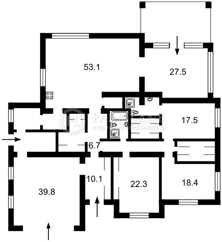 Дом Подгорцы, N-21865 - Фото 1