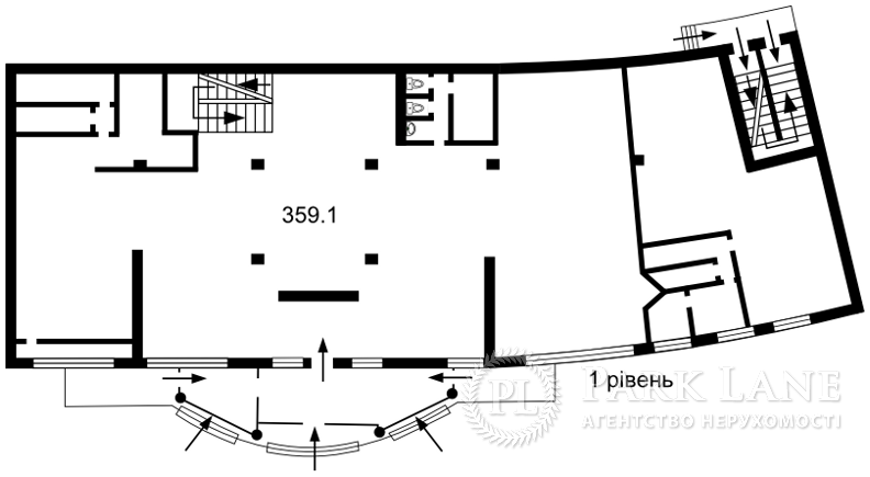 Нежилое помещение, Ахматовой, Киев, K-29399 - Фото 2